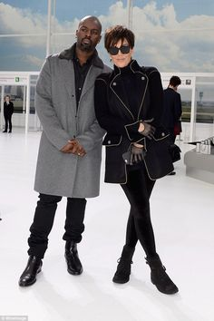 Kris Jenner, and Corey Gamble may have gotten married, as the was pictured wearing a suspicious ring on his ring finger. See the pic here! Kris Jenner Kids, Kris Jenner Style, Kardashian Family, Kardashian Jenner, Suit Fashion, Fashion Outfits, Womens Fashion, Luxury Lifestyle Fashion, Jenner Family