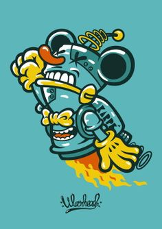 PROJECT ILLUSTRATION 01 / 2012 by WARHEAD , via Behance
