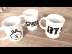 DIY BTS & EXO KPOP Mugs!   Life Of A KPOP Fan With Emily! - YouTube