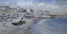 T S Hutton. Northumbrian Artists. Cullercoates School. • John Nicholson Fine Art