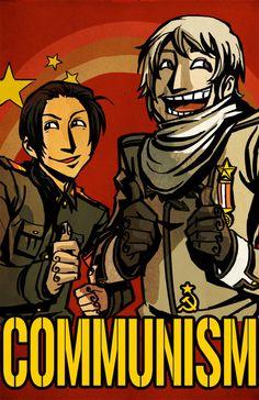 APH China APH Russia hetalia