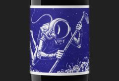 El Cosmonauta by Moruba, Spain. #wine #design