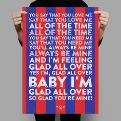 Crystal Palace - Glad all over : WANT THIS! :)