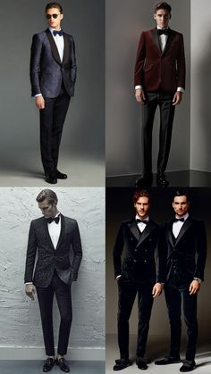 a107f857b7 Men s Black Tie Alternative Creative Dress Code Outfit Inspiration Lookbook