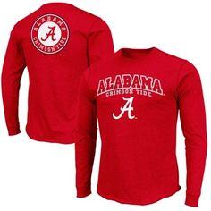 Alabama Crimson Tide Mogul Long Sleeve T-Shirt - Crimson