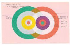 Karel Martens, Untitled, 2016, letterpress monoprint on found card. From Karel…