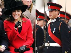 HER MAJESTY  Kate cheers on William during his graduation from the Royal Military Academy Sandhurst in December 2006 – in the presence of her boyfriend's grandmother, Queen Elizabeth. It marks the first official royal event for Middleton, setting off a new set of engagement rumors.