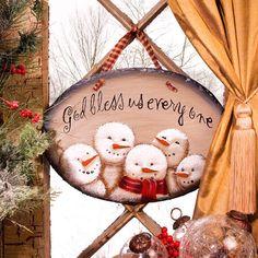 Sno Blessed Snowmen Slate Plaque – Baubles-N-Bling