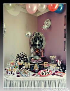 Disco Ball Party Decorations Party Decorations Centerpieces  Look The Mini Disco Balls In The