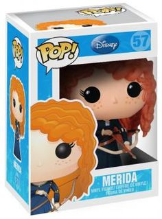 Merida (Brave) Vinyl Figure 57 - Funko Pop! van Merida