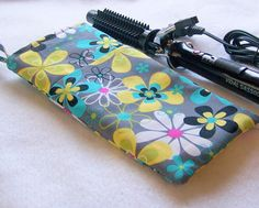 Curling Iron Travel Pouch by HatsEtc on Etsy, I sold yesterday.