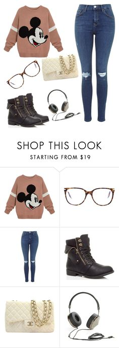 """""""Untitled #40"""" by raregold on Polyvore featuring Victoria Beckham, Chanel and Frends"""