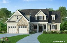 The Ivy Creek House Plan 921 is being built by Custom Structures, Inc. as the St. Jude Children's Hospital 2021 Dream Home Giveaway in Lynchburg, VA! #wedesigndreams #stjude #cottagehouseplan Cottage House Plans, Country House Plans, Cottage Homes, Basement House Plans, House Floor Plans, Basement Bedrooms, St Jude Dream Home, Unique Small House Plans, Stair Plan