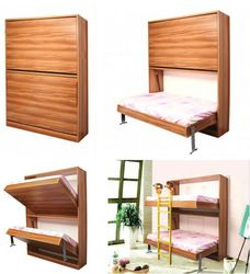 twin bunk murphy bed plans