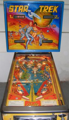 Star Trek Pinball -- wish I had this!