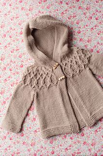 Ravelry: Wee Ambrosia pattern by Gudrun Johnston You are in the right place about Crochet Pattern for kids little girls Here we offer you the. Baby Knitting Patterns, Knitting For Kids, Baby Patterns, Knitting Ideas, Knit Baby Sweaters, Knitted Baby Clothes, Toddler Sweater, Baby Knits, Baby Cardigan