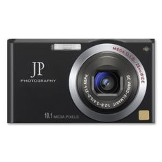 compact digital camera photographer business card - Photography Business Card