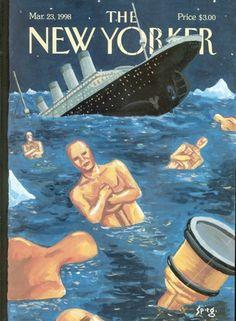 (Ancora una copertina del New Yorker: questa dedicata agli oscar del 1998).
