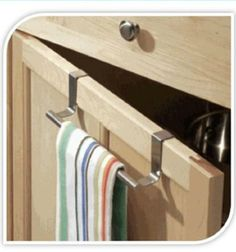 30 Best Kitchen Towel Rack Over the Cabinet images | Kitchen ...