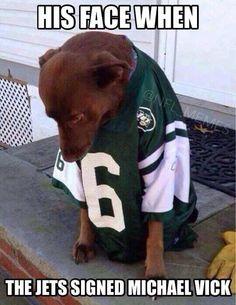 Michael Vick NY Jets