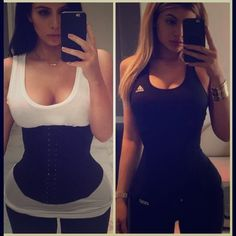 Waist Trainer Corset Waist Cincher Kylie Jenner Worn once, fits up to a 3X. Adjustable hook and closure, would fit anyone up to 230 pounds. I N S P I R E D by Kim Kardashian and Kylie Jenner Intimates & Sleepwear Shapewear
