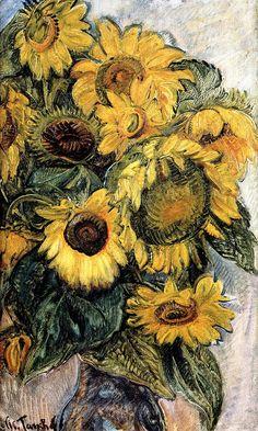 Nicolas Tarkhoff - Sunflowers