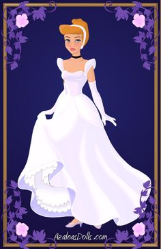 Cinderella { Silver Dress } by kawaiibrit.deviantart.com