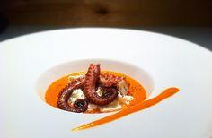 La ricetta per cucinare il polpo con gazpacho e burrata secondo chef Roberto Zito. Un delizia per gli occhi e per la gola.