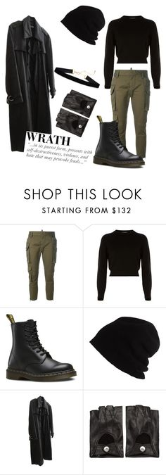 """random"" by jstoffx on Polyvore featuring Dsquared2, Helmut Lang, Dr. Martens, SCHA, Raf Simons and Ann Demeulemeester"