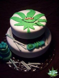 #cake #weed #canabis