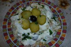 Salata de hering marinat Lasagna, Salads, Lasagne