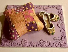 Cake For Mehndi Ceremony : Mughul theme cake www.sweetsponges.com mehndi and dholki cakes