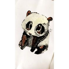 Painting panda - follow me on my instagram: @m.nymsova