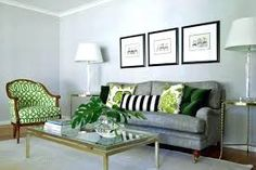 Image result for grey and green interior design