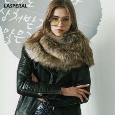 Warm Faux Fur Collar Winter Scarf Women Elegant Fashion Thick Scarves Female Solid Shawls Poncho  #loveit #ootn #tbt #girls #streetstyle #fashiongram #cute #beauty #moda #lookoftheday