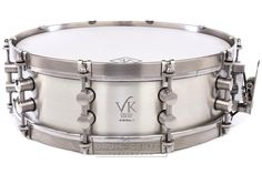 Personalized Service from Drummers who care. Buy the VK Drums Ageless Silver Snare Drum w/ Hardcase at Drum Center of Portsmouth and browse thousands of unique percussion products tailored for the serious and beginning drummer. Tambour, Drum Key, Snare Drum, Drummers, Portsmouth, Percussion, Silver Color, Music Instruments, Heart