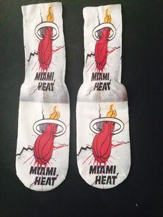 Miami Heat Socks