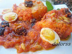 Blog de cuina de la dolorss: Bacallà amb tomate o bacalao con tomate