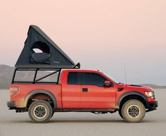 ford truck rack tent - Google Search