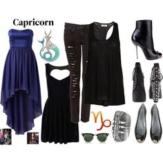 my glam rock style, created by soflovesfashion on Polyvore