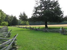Surrender Field in Yorktown, VA....where the British surrendered to the Americans at the end of the Revolutionary War.......the very beginning of the United States of America.