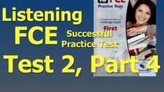 Listening FCE Successful Practice Test Test Part 2 Cambridge, Tech Companies, Success, English, Music, Youtube, Baccalaureate, Musica, Musik