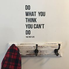 """""""Do What You Can't"""" Vinyl Wall Decal"""