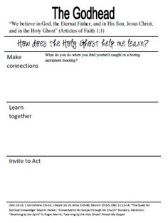 Youth Sunday School Workbook