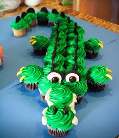 Crocodile cake                                                                                                                                                                                 More