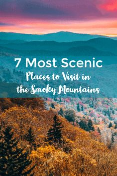 Great Smoky Mountains, Smoky Mountains Hiking, Vacation Trips, Vacation Spots, Vacation Places, Vacation Ideas, Tennessee Vacation, Tennessee Gatlinburg, Places To Travel