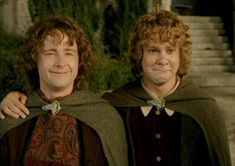 Merry and Pippin from Lord of The Rings are a comedy double act of happy go lucky scamps. #jester #archetype #brandpersonality