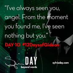 On the tenth day of Gideon my lover said to me…#12DaysofGideon
