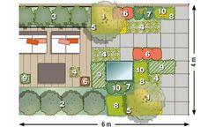 zum nachpflanzen taglilienbeet in gelb und wei pinterest garden planning and gardens. Black Bedroom Furniture Sets. Home Design Ideas