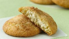 You will be surprised when you see what is inside these snickerdoodles!